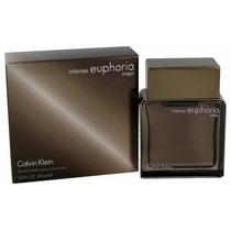 Perfume Ck Euphoria Intense Men.100ml - Original- Frete Grat