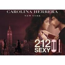 212 Sexy Perfume 100% Original 30ml Na Caixa Lacrado