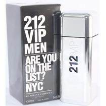 Perfume 212 Vip Men Carolina Herrera 100ml-original