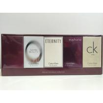 Miniaturas Calvin Klein Feminino - 5 Miniaturas- Novidade