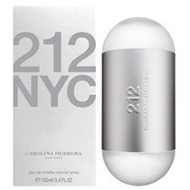 Carolina Herrera Perfume Feminino 212 - Eau De Toilette 60ml