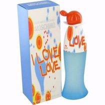 Perfume Moschino I Love Love Edt Fem.100ml Original Lacrado
