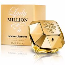 Perfume Paco Rabanne Lady Million 80ml Feminino Original Edp