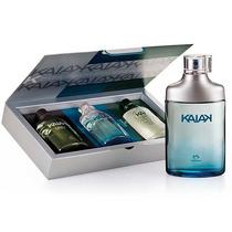 Presente Natura Kaiak - Colônia - 100ml + Kit Miniaturas