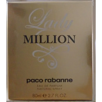 Perfume Lady Million Edp 80 Ml Paco Rabanne Original Lacrado