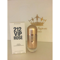 Perfume 212 Vip Rose 80 Ml - Edp - Original - T E S T E R