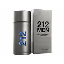 Perfume 212 Men 100 Ml Edt Mas.carolina Herrera +brinde