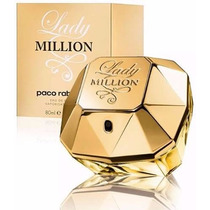 Perfume Feminino Lady Million 80ml 100% Original