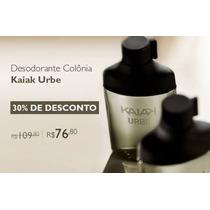 Perfume Masculino Kaiak Urbe 100ml Natura C/ 30% De Desconto