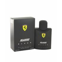 Perfume Masculino Ferrari Black 125ml - Made In Italy