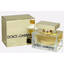 Perfume The One Dolce & Gabbana Feminino Edt 50ml Original