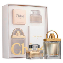 Kit Miniaturas Chloe Coffret Gift Set Chloé E Love Story Edp