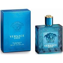 Perfume Versace Eros Edt 100ml Masculino - Frete Gratis.