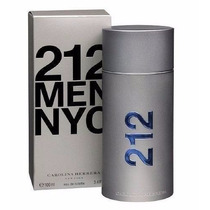 Perfume Carolina Herrera 212 Men Nyc 100ml Original Lacrado