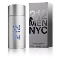 Perfume 212 Men Nyc Carolina Herrera 100ml ** Original