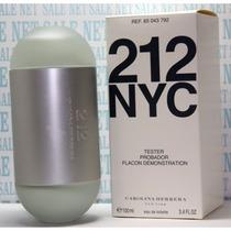 Perfume 212 Feminino 100 Ml - Original - Tester