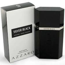 Perfume Azzaro Silver Black 100ml Edt 100% Original