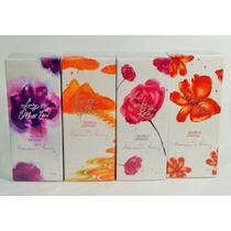 Kit Colonias Perfumes Mulher E Poesia Avon 4x50ml