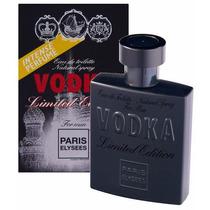 Perfume Vodka Limited Masculino 100ml Paris Elysees