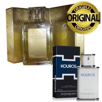 Perfume Masculino Gold 02 Ref. Kouros Yves100ml Hinode Orig.
