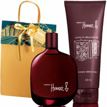 Presente Humor 2 Natura 75ml + Shampoo 200ml + Embalagem !