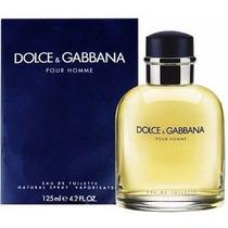 Perfume Dolce Gabbana Pour Homme 125ml - Original E Lacrado