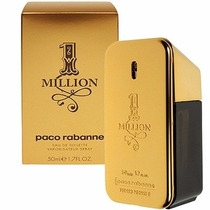 Perfume 1 One Million 50ml 100% Original Paco Rabanne