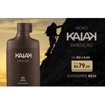 Des. Colônia Kaiak Expedição 100ml Super Promoção