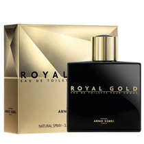 Perfume Frances Royal Gold Edt Arno Sorel Masc. 100ml