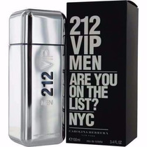 Perfume Carolina Herrera-212vip Men Edt 100 Ml