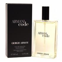 Perfume Armani Code Masculino 100ml Giorge Armani + Lacrado