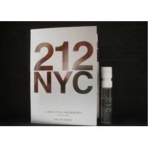 Perfume Carolina Herrera 212 Nyc Feminino 1,5ml Amostra