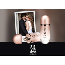 212 Vip Rosé Edp Perfume Original Lacrado 80ml Feminino