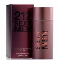 Perfume 212 Sexy Men Edt 100ml Carolina Herrera - Original