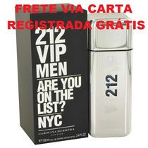 Ch 212 Vip Men Decant Amostra 5ml Original Frete Grátis*
