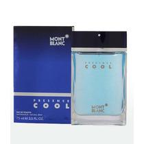 Perfume Mont Blanc Presence Cool 75ml Masculino - Original