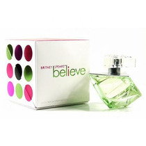 Perfume Believe Britney Spears Feminino Edp 100ml Original