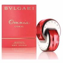 Perfume Bulgari Omnia Coral Edt 65ml *novo Frete Gratis