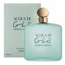 Acqua Di Gio Edt 100ml Feminino * Giorgio Armani / Original