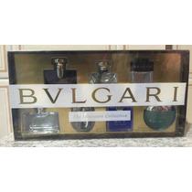 Kit Miniaturas De Perfume Bvlgari *com 7 Miniaturas*