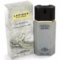 Perfume Lapidus Ted Masculino Eau De Toilette 100ml Original