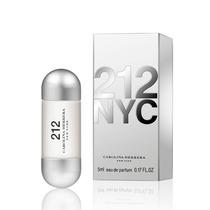 2 Perfumes Carolina Herrera 212 Nyc Feminino 5ml Miniatura