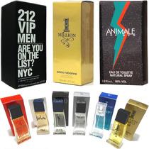 Lote Kit 3 Perfumes Contratipo Alta Fixação Frete Grátis