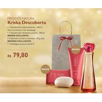 Kit Para Esposa Natura Kriska Colônia + Brindes Exclusivos