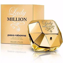 Perfume Paco Rabanne Lady Milion 80ml Original - Lacrado