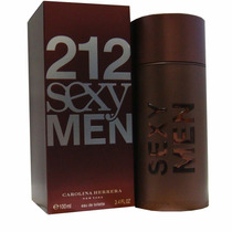 Perfume 212 Sexy Men 100ml Carolina Herrera 100% Original.