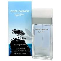 Perfume Light Blue Dreaming In Portofino D&g 100ml Feminino
