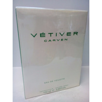 Perfume Vetiver Carven Masculino 100 Ml Original Importado