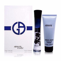 Kit Armani Code Feminino Eau De Parfum 75ml + Body Lotion