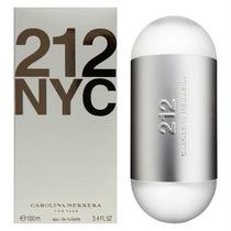 Perfume Carolina Herrera 212 Nyc 100ml Feminino - Original